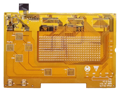Double-Sided Flex PCB trace ws 6mil