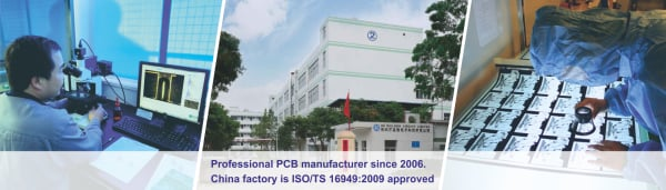 Professional PCB Manufacturer Since 2006.